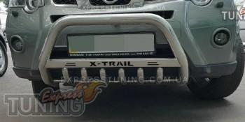 Кенгурятник Ниссан Х-Трейл Т31 (защита переднего бампера Nissan