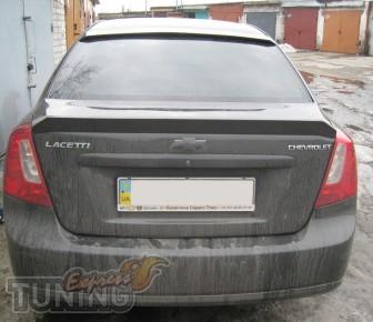 Спойлер на Chevrolet Lacetti 4d (лачетти седан)