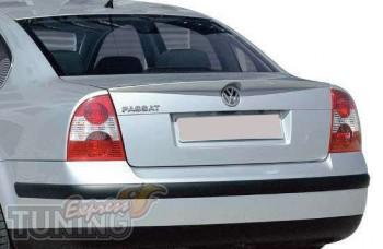 Тюнинг спойлер на багажник Volkswagen Passat B5 с 2005 года