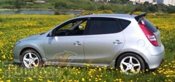 Ветровики Hyundai i30 FD (дефлекторы окон )