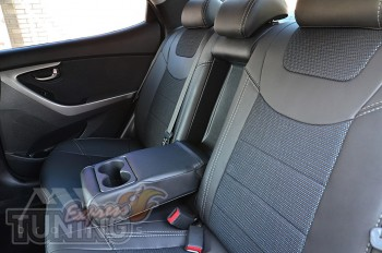 Чехлы для Хендай Элантра 5 МД (чехлы на Hyundai Elantra MD)