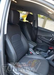 купить Чехлы в салон Хендай Санта Фе 3 ДМ (чехлы на Hyundai Sant