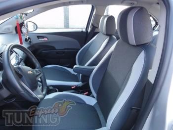 Чехлы Шевроле Авео Т300 седан (авточехлы на сиденья Chevrolet Av
