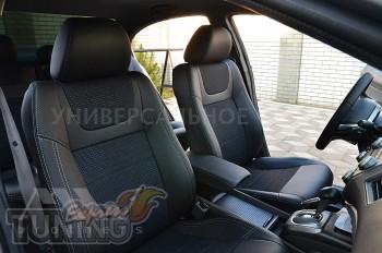 Чехлы в салон Субару Аутбек 4 (чехлы на Subaru Outback IV)