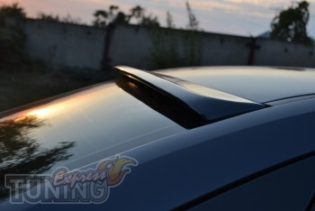 Купить спойлер на стекло Ford Focus 2 седан (фото ЭкспрессТюнинг