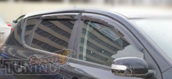 Ветровики Kia Ceed 2 hb (дефлекторы окон )