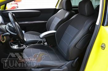 Чехлы в салон Ситроен С4 1 (авточехлы на сиденья Citroen C4 1 3D