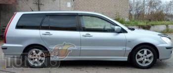 Ветровики Mitsubishi Lancer 9 wagon (дефлекторы окон Митсубиси Л