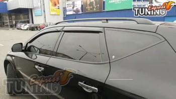 Боковые ветровики дверей Nissan Murano Z50 фото