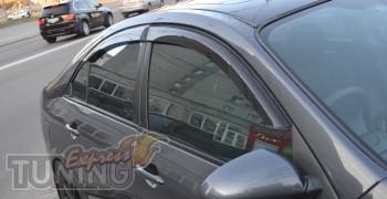 купить Ветровики Ниссан Примера Р12 (дефлекторы окон Nissan Prim