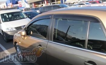 заказать Ветровики Nissan Tiida 1 (дефлекторы окон Ниссан Тиида