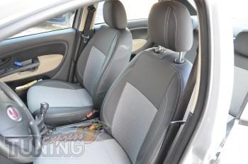 Авточехлы на сиденья Фиат Линеа (чехлы в салон Fiat Linea)