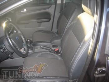 Чехлы в салон Форд Фокус 2 (авточехлы на сиденья для  Ford Focus