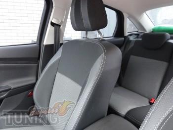 Чехлы в салон Форд Фокус 3 (авточехлы на сиденья Ford Focus 3 ку