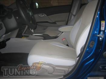 Чехлы в салон Хонда Сивик Нью седан (заказать авточехлы на сиден