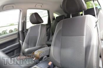 Чехлы в салон Хонда СРВ 3 (авточехлы на сиденья Honda CR-V 3)