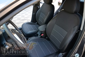 Чехлы Хендай Акцент 4 седан (авточехлы на сиденья Hyundai Accent
