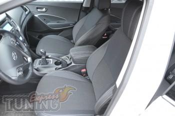 Чехлы Хендай Санта Фе 3 (авточехлы на сиденья Hyundai Santa Fe 3