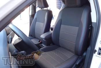 Чехлы в салон Тойота Королла Е170 (авточехлы на сиденья Toyota C
