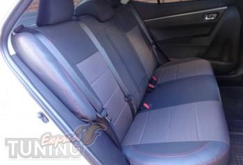 купить Чехлы Тойота Королла Е170 в expresstuning (авточехлы на с