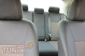 Чехлы в салон Тойота Королла (авточехлы на сиденья Toyota Coroll