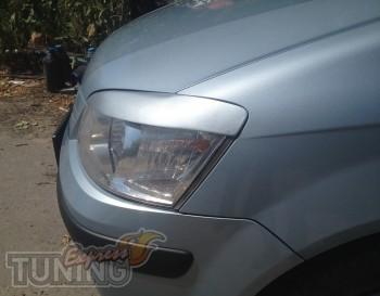 Купить реснички для Hyundai Getz (тюнинг накладки фар Хендай Гет