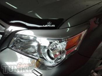 Оригинальный реснички на передние фары Lexus GX460 (фото Экспрес