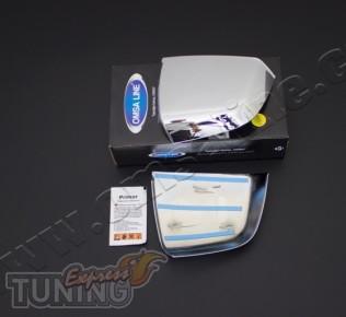 Купить хром накладки на зеркала для Фиат Добло 2 (хром накладки