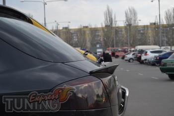 Купить спойлер задней двери Chevrolet Lacetti 5d (лип спойлер)