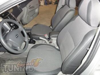 Чехлы для авто Киа Серато 1 (авточехлы на сиденья Kia Cerato 1)