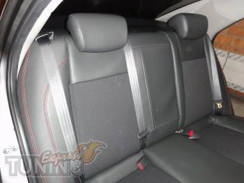 Чехлы в салон Киа Серато 2 (авточехлы на сиденья Kia Cerato 2)