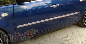 Хромированные молдинги на двери Форд С-Мах 1 (хром пакет на молд