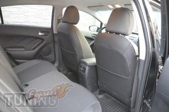 заказать Чехлы в автомобиль Киа Серато 3 (авточехлы на сиденья K