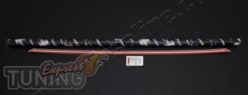 Хром накладка на кант багажника Форд Фокус 2 поколения (хром мол