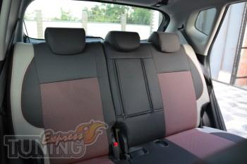 Чехлы для автомобиля Киа Венга (авточехлы на сиденья Kia Venga)