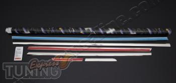 Купить хром молдинги стекол Honda Accord 9 седан (хром окантовка