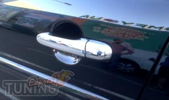 хромированные накладки ручек Hyundai Accent 3