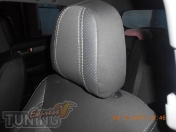 Чехлы в салон Киа Соренто 2 (авточехлы на сиденья Kia Sorento 2)
