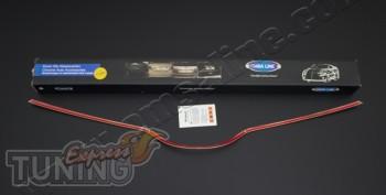 Хромированная накладка на переднюю решетку Хендай I30 2 GD (уста