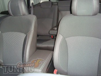 Чехлы Субару Аутбек (авточехлы на сиденья Subaru Outback)