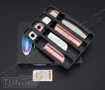 Купить хром накладки на дверные ручки Kia Soul 1 2008-2013 (хром
