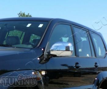 Хромированные накладки на зеркала Lexus GX470 (купить хром крышк