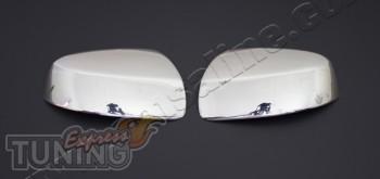 Хром накладки на боковые зеркала Mercedes Vito W639 Omsa (хром п