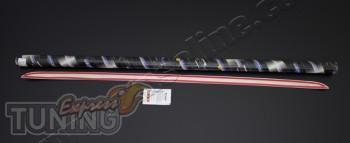 Хромированная кромка багажника Mitsubishi ASX (хром кант крышки