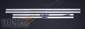 Хромированные молдинги стекол Ниссан Кашкай 1 (хром окантовка ок