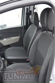 Чехлы для авто Рено Доккер (авточехлы на сиденья Renault Dokker)