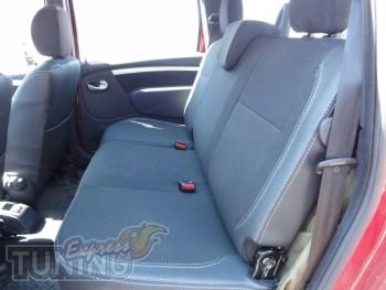 Чехлы в авто Рено Логан МСВ 2 (авточехлы на сиденья Renault Loga