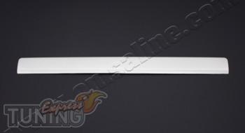 Хром накладка на планку номерного знака Пежо Боксер (установка х
