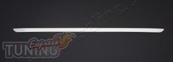 Купить хромированную накладку на крышу багажника Рено Симбол 1 (