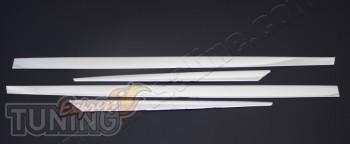 Купить хромированные накладки на дверные молдинги рено Меган 3 (